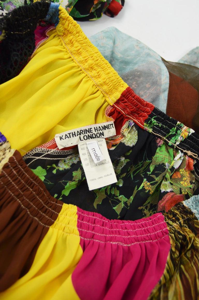 Katharine Hamnett Vintage Wide Leg Palazzo Pants For Sale 3
