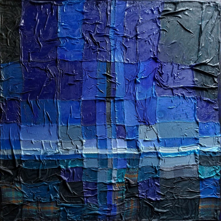 Katharine Weber Abstract Painting - Relativity