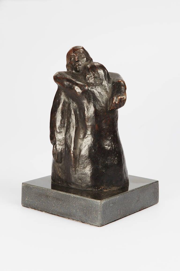 Käthe Kollwitz Bronze Sculpture Der Abschied ( Leave )