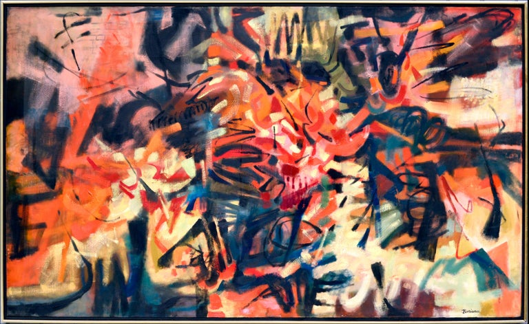 Katherine Barieau Live Movement Abstract Expressionist San