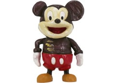 What's Up [Mickey] -- Sculpture, Resin Multiple, Disney by Katherine Bernhardt