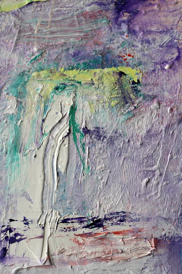 Lost Keys - Contemporary Painting by Katherine Borkowski-Byrne