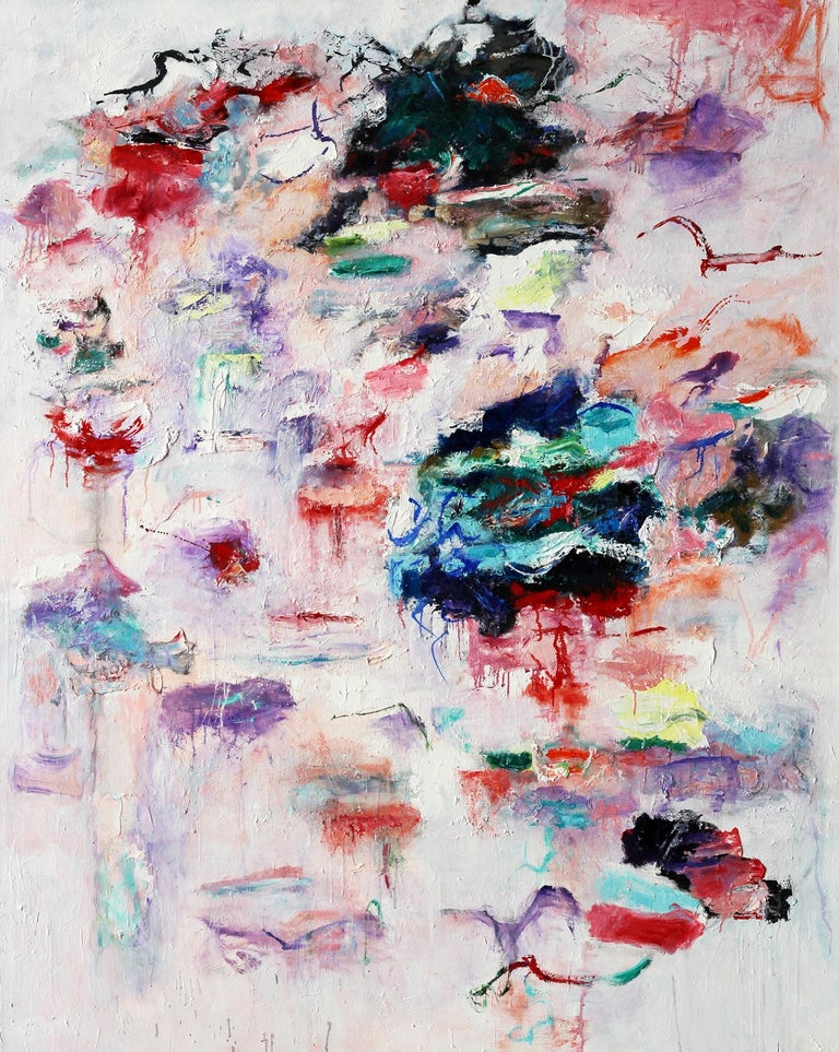 Katherine Borkowski-Byrne Abstract Painting - Lost Keys