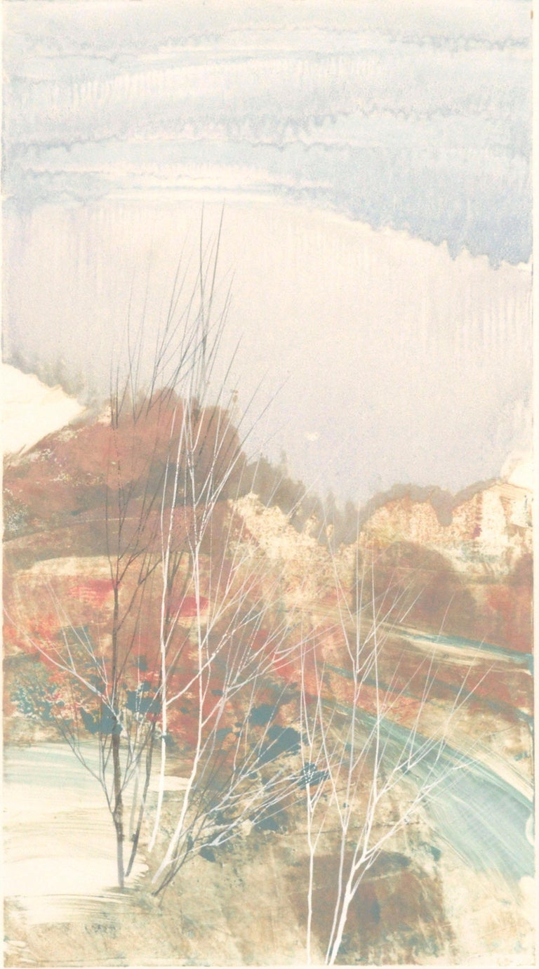 South Ridge Series #66 - Print by  Katherine Chang Liu