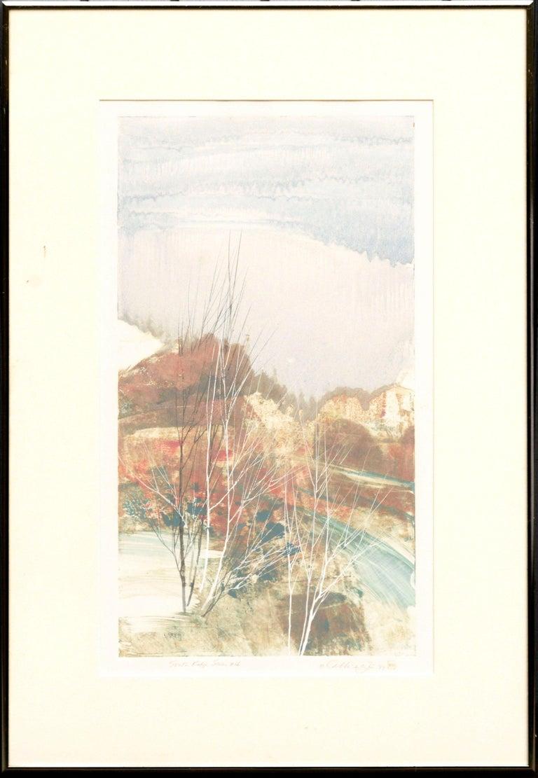Katherine Chang Liu Landscape Print - South Ridge Series #66