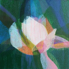 """(Jubilee) Magnolia"" - Abstract Botanical Painting - Diebenkorn"