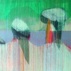 """(Jubilee) Sullivan's Island"" - Abstract Landscape Painting - Diebenkorn"