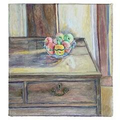 Kathleen Gee Still Life Oil on Canvas Painting