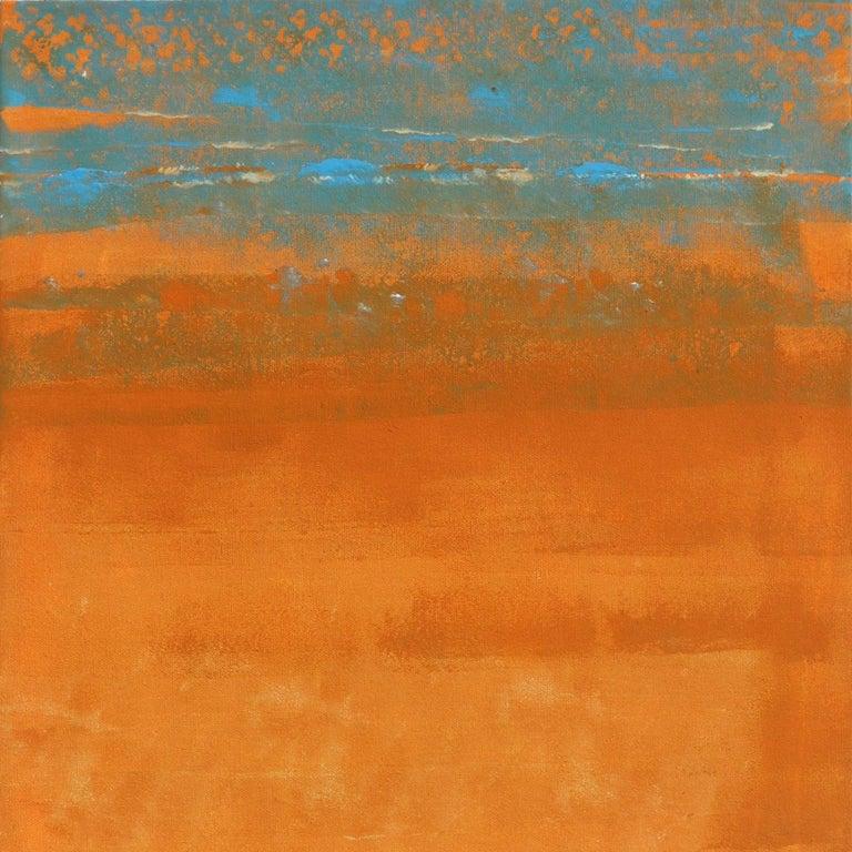 Tangerine Heat - Photorealist Painting by Kathleen Keifer