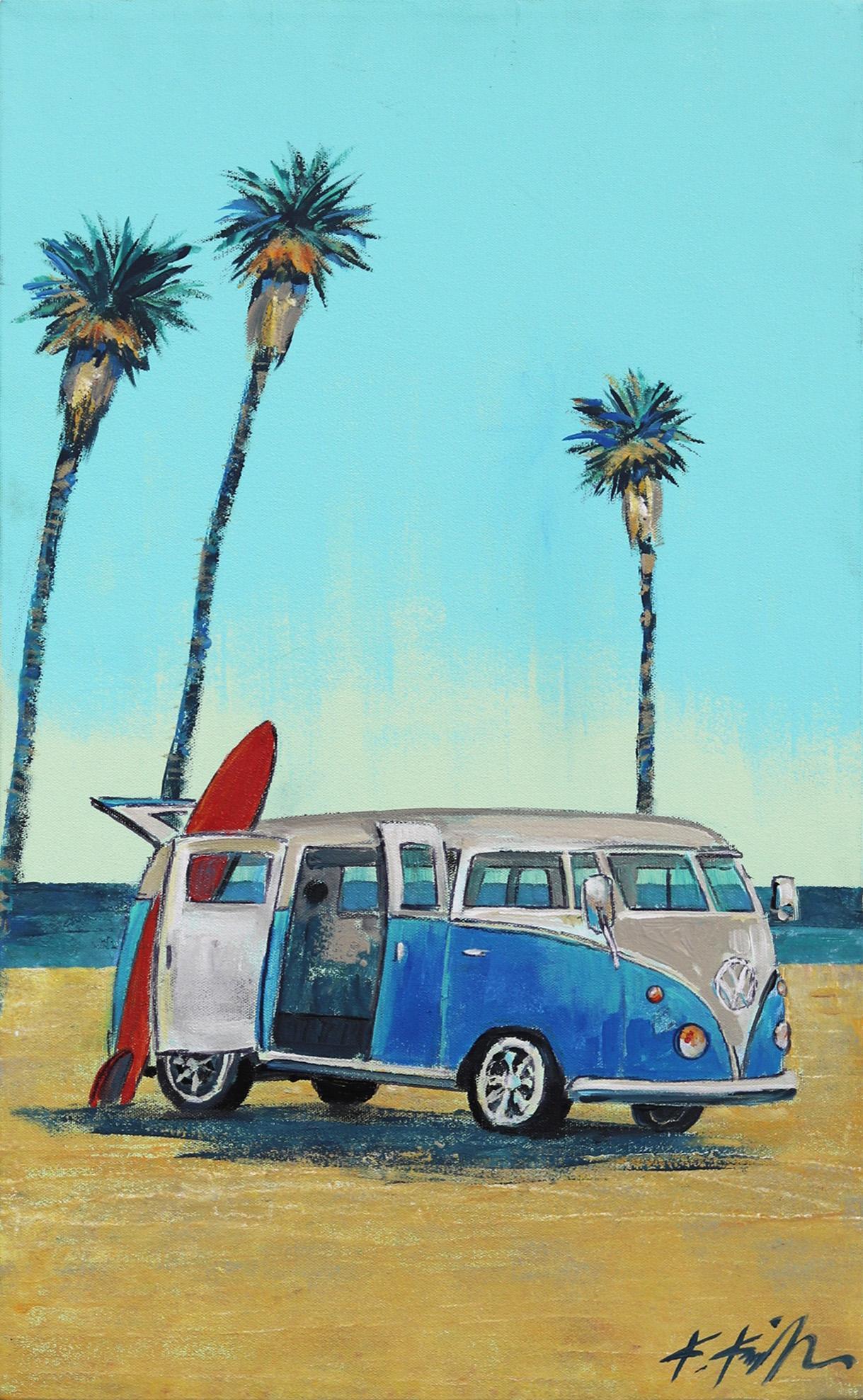 Three Palms VW Van