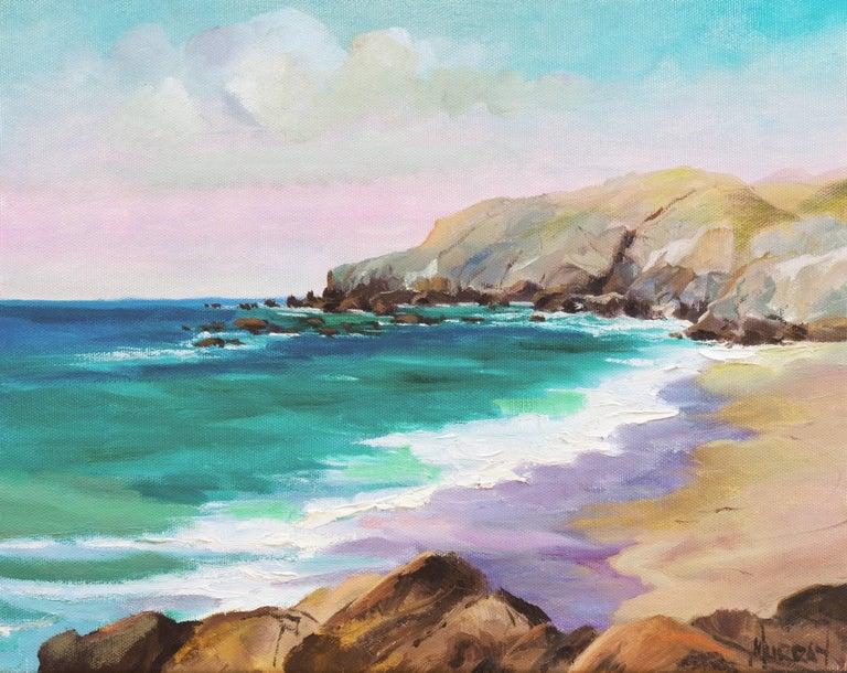 Kathleen Murray Landscape Painting - Big Sur Coast