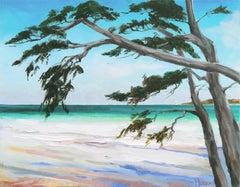 'Carmel Beach, Low Tide', California Woman Artist