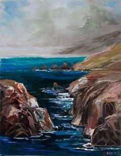"""""""Craggy Cliffs"""" - Big Sur Seascape"""