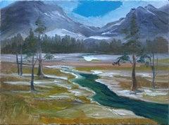 High Sierra Mountain Landscape by Kathleen Murray