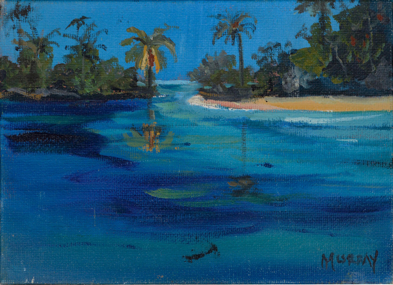 """Lagoon II"" Miniature Landscape"