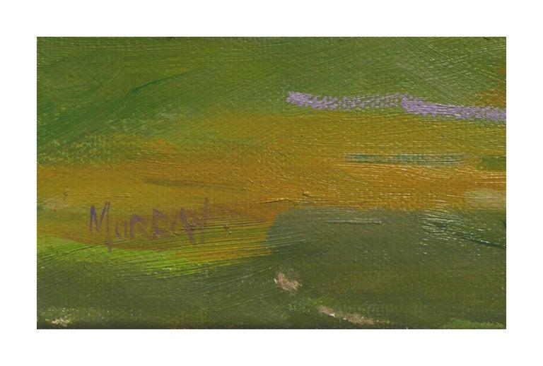 Lavender Creek - American Impressionist Painting by Kathleen Murray