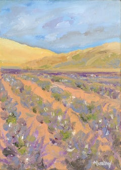 Lavender Fields in California - Vertical Landscape