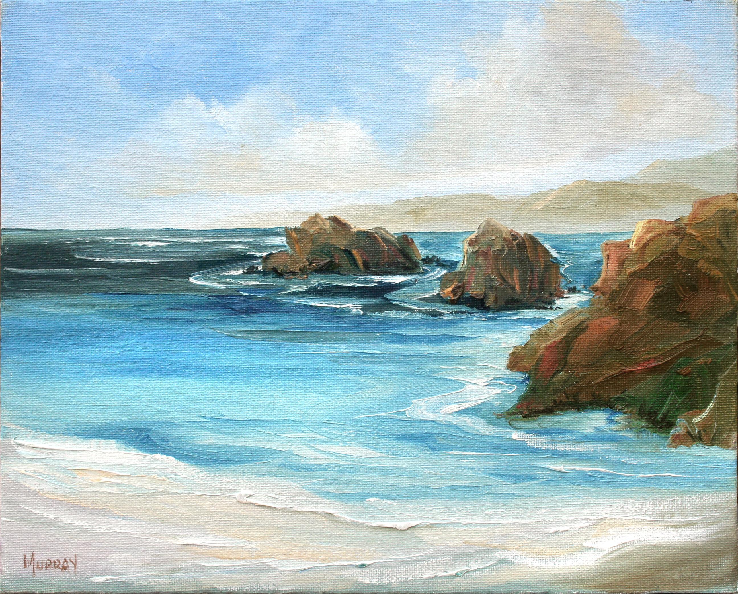 Low Tide in Carmel Seascape