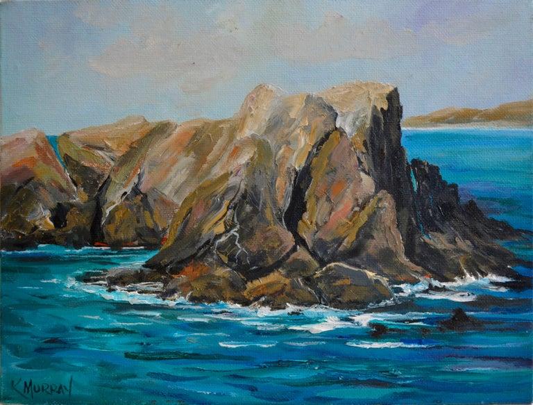 Kathleen Murray Landscape Painting - Point Lobos State Park Landscape