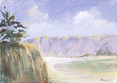 Purple Cliffs in Big Sur - Landscape