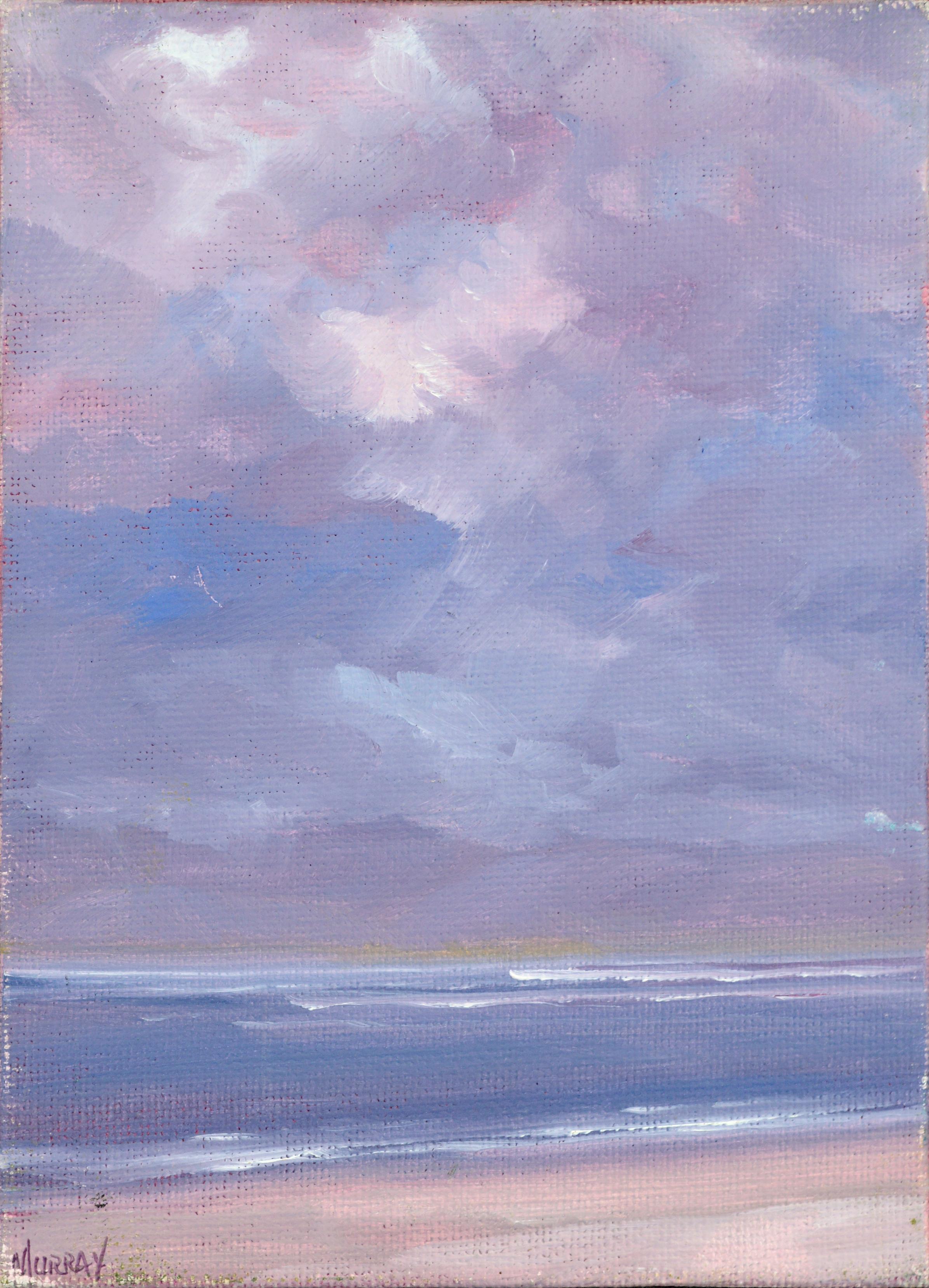 Purple Vertical Seascape