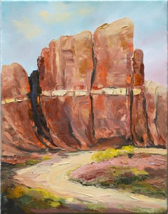 Road Near the Mesa by Kathleen Murray