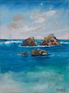 Rocks in the Tide - Miniature Landscape