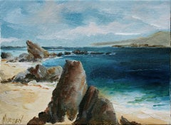 Rocky Beach, Monterey, California Landscape