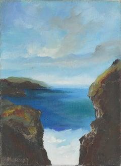 """Seascape #66 """"Between a Rock..."""""""