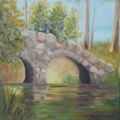 Stony Bridge Landscape by Kathleen Murray