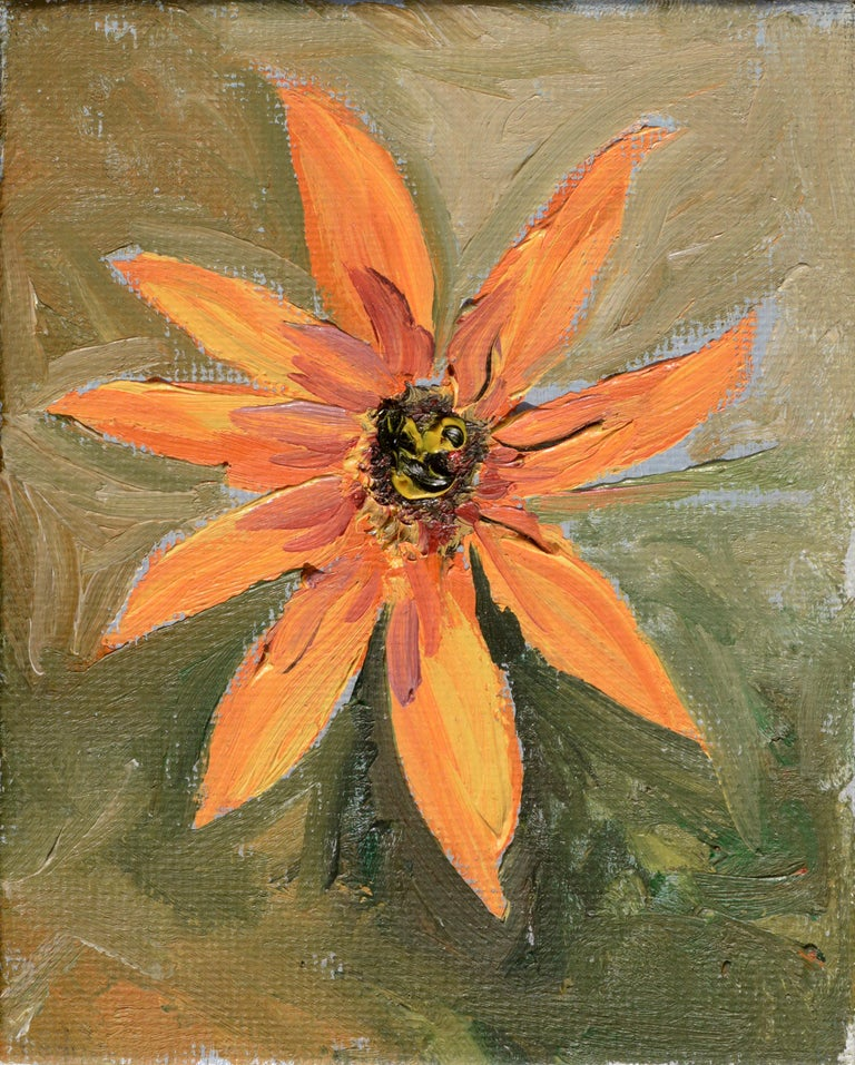 "Kathleen Murray Still-Life Painting - ""Sunflower #1"""