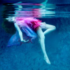 Dream - underwater photography, archival metallic paper contemporary mounted