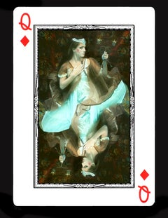 Queen of Diamonds- underwater photography, archival metallic paper contemporary