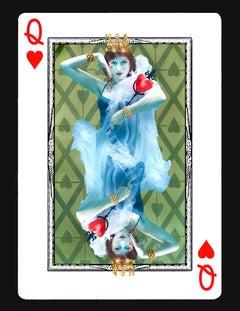 Queen of Hearts - underwater photography, archival metallic paper contemporary