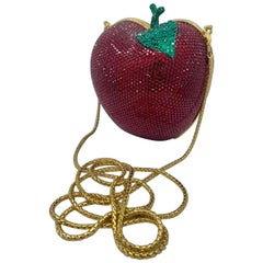 Kathrine Baumann Beverly Hills Limited Edition Red Apple Minaudiere Evening Bag