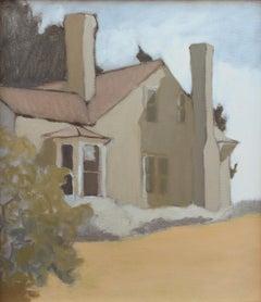 'Bleak House 7-13-2020' - plein air landscape - architectural painting