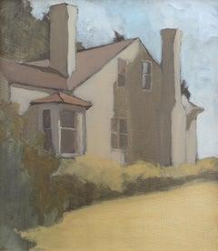 'Bleak House 7-16-2020' - plein air landscape - architectural painting