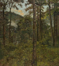 Cashiers, (a landscape in the Barbizon tradition)