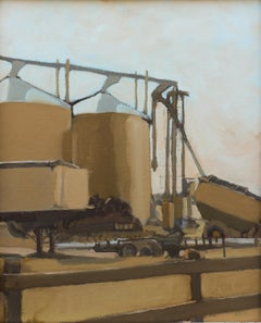 'Inglewood 6-12-2020' - plein air landscape - architectural painting
