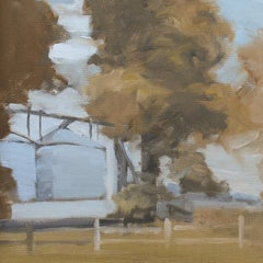 'Inglewood 6-2-2020' - plein air landscape - architectural painting