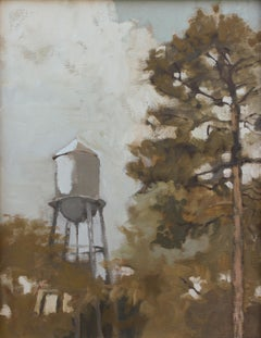 'Inglewood 6-4-2020' - plein air landscape - architectural painting