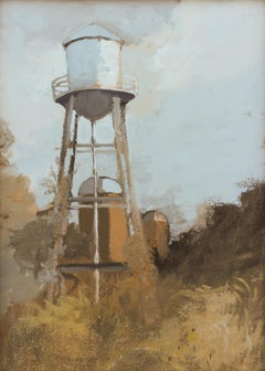 'Inglewood 6-8-2020' - plein air landscape - architectural painting
