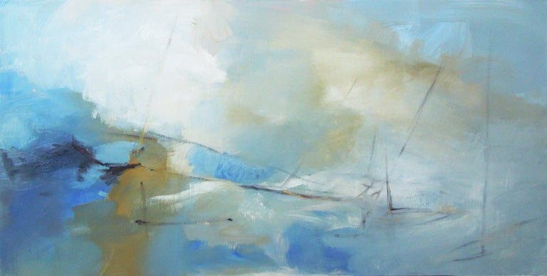 Kathy Buist Abstract Painting - Vast