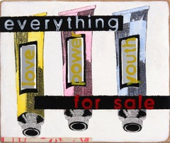Mass Consumerism - Everything is For Sale - Original Kati Elm Pop Art