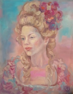 Dressed-up, Painting, Oil on Canvas