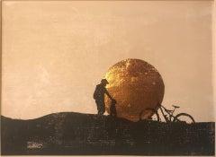 Katie Edwards, Best Mates, Limited Edition Contemporary Artwork, Landscape Print