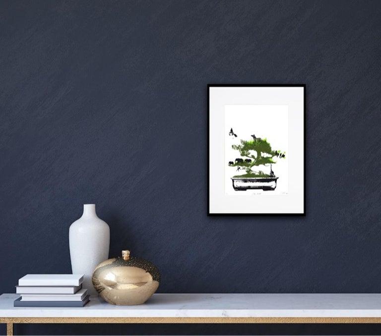 Little Jungle, Katie Edwards, Limited Edition Print, Surrealist Landscape Art For Sale 5