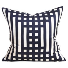 Katie Larmour Vintage Liberty of London Scarf Backed in Irish Linen Cushion