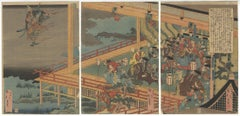 Katsushika Hokui, Ukiyo-e, Hokusai School, Folk Tale, Japanese Woodblock Print