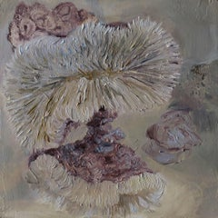 Contemporary Oil Painting with Sea Life Influence